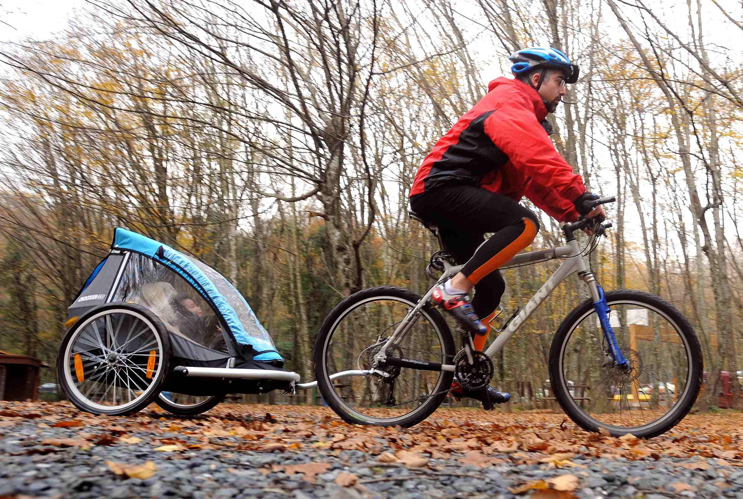 Belgrad ormanlarında bisiklete binerken