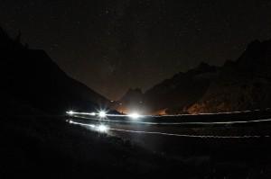 Arete du Mont Favre geçidinden menzile doğru bakış: Foto: © The North Face® Ultra-Trail du Mont-Blanc® – Franck Oddoux