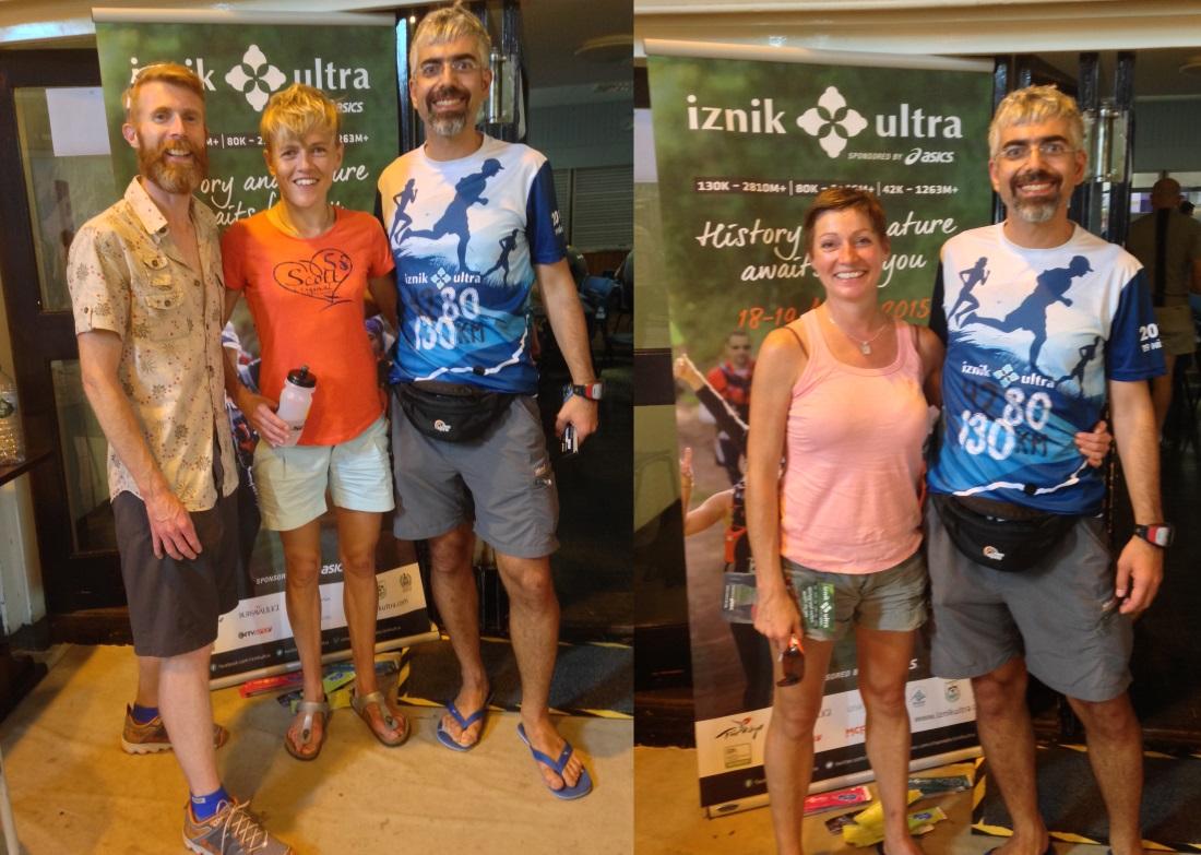 Soldan Sağa: Marcus Scotney > Jo Meek > Caner, Tracy Dean > Caner