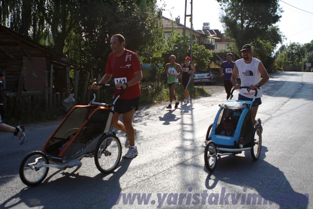 Avrasya Maratonu: Çocuklu koşu ve TEGV'e destek