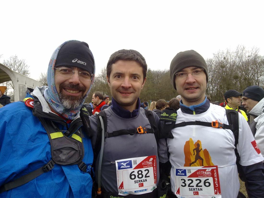 Start öncesi: Ben, Serkan ve Sertan Girgin