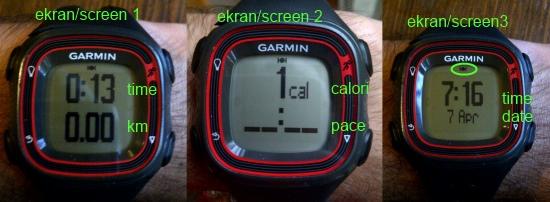 Koşu ekranları