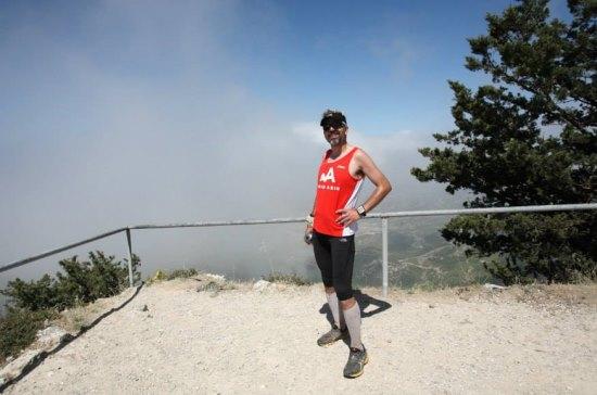 Ve Zirve! Buffavento Kalesi'nin tepesinde duman karşılayınca manzara göremedim. F: Kagan Tuncay