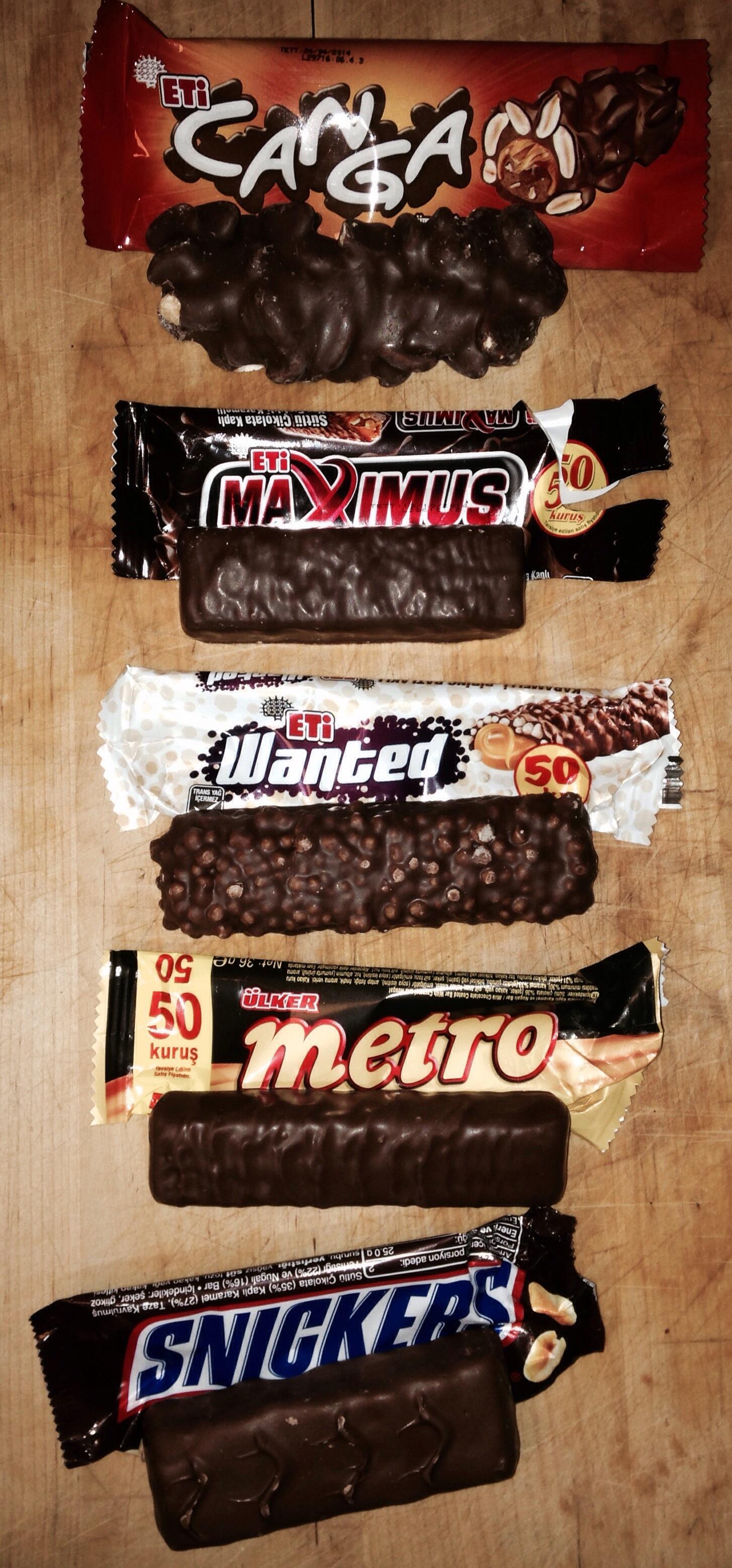 Koşu Çikolataları