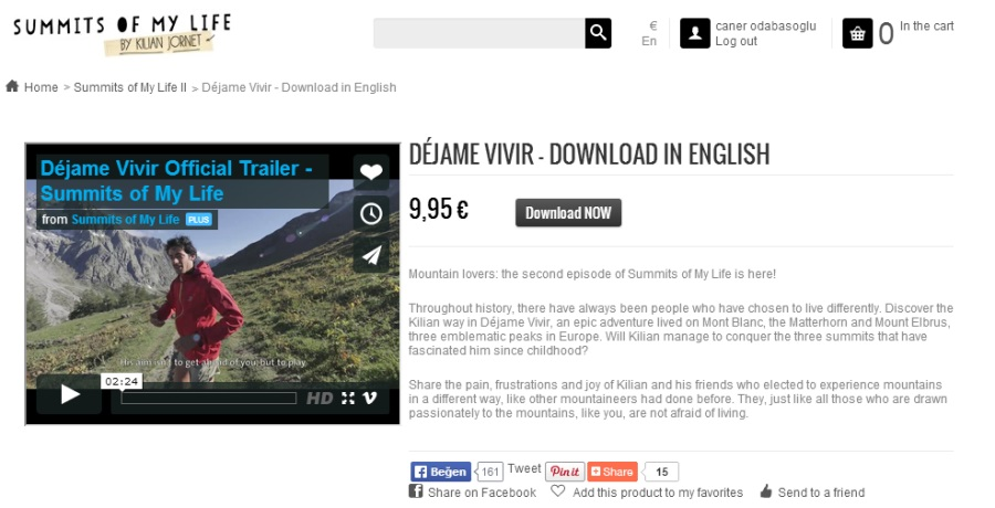 Filmi internetten satın alıp izleyebilirsiniz.