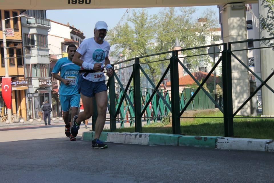 Bursa Osmangazi 15km yarışı Çatalfırın civarı