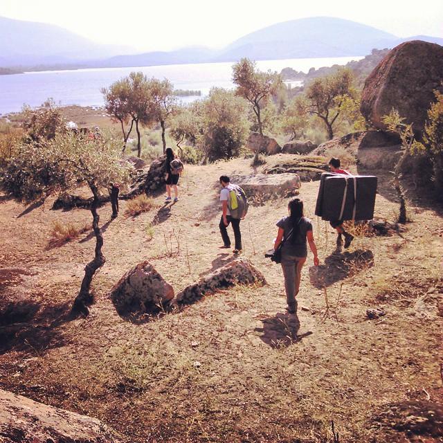 Bafa'nın dokusu ve kaya yapısı çok etkileyici. F: Mustafa Gürmani